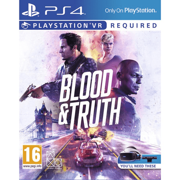 PlayStation Video Games Blood & Truth PlayStation VR PS4