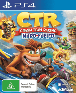 PlayStation Video Games Crash Team Racing Nitro-Fueled PS4
