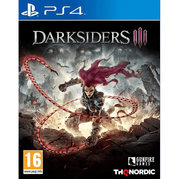 PlayStation Video Games Darksiders III PS4