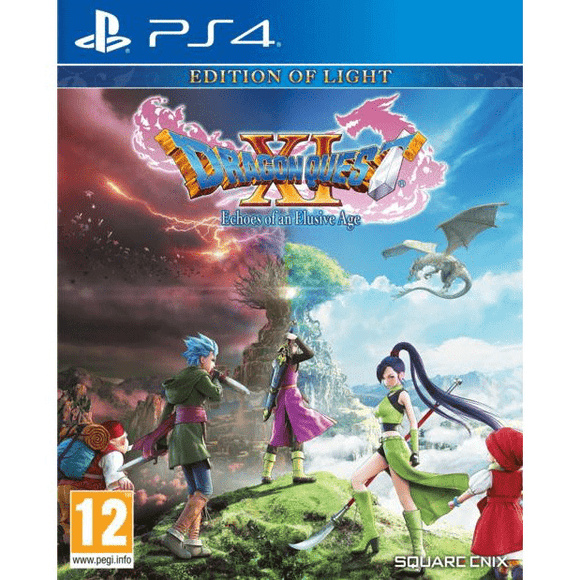 PlayStation Video Games Dragon Quest XI: Echoes of an Elusive Age PS4