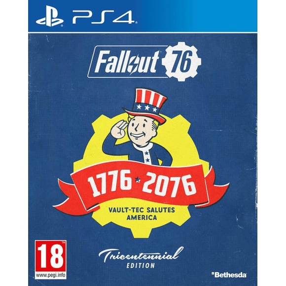 PlayStation Video Games Fallout 76 Tricentennial Edition PS4