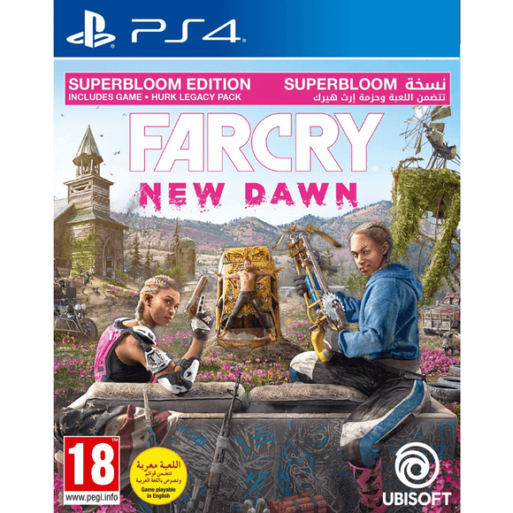 PlayStation Video Games Far Cry: New Dawn Superbloom Edition PS4