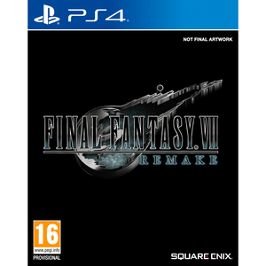 PlayStation Video Games Final Fantasy VII Remake PS4