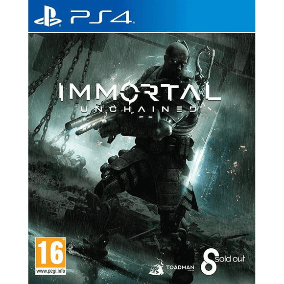 PlayStation Video Games Immortal: Unchained PS4