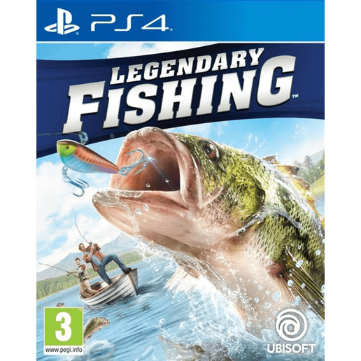 PlayStation Video Games Legendary Fishing PS4
