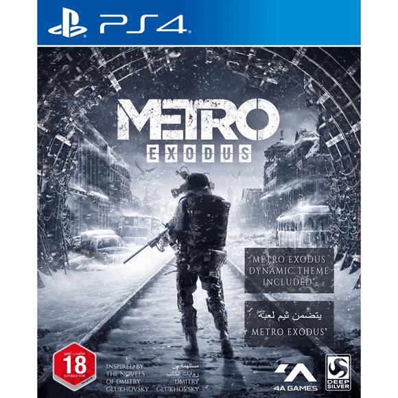 PlayStation Video Games Metro Exodus PS4