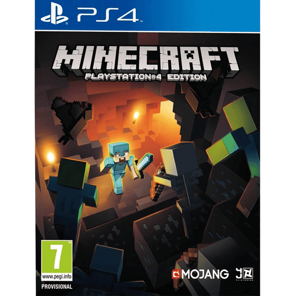 PlayStation Video Games Minecraft PS4