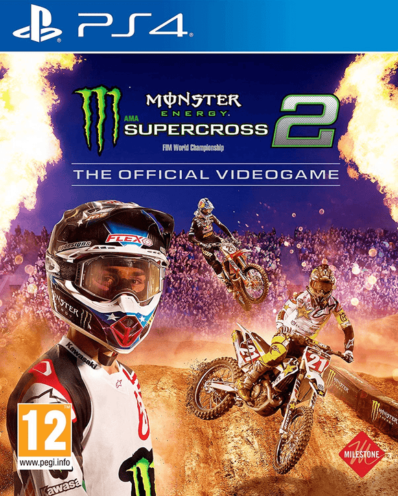 PlayStation Video Games Monster Energy Supercross 2 PS4
