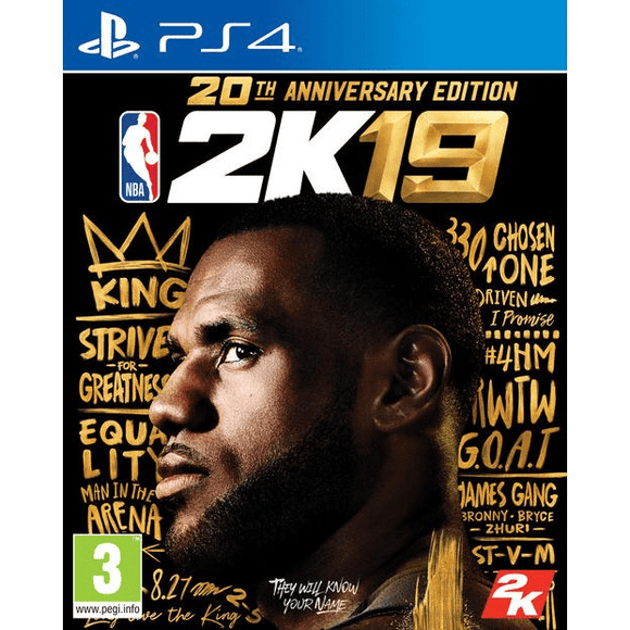 PlayStation Video Games NBA 2K19 Anniversary Edition PS4