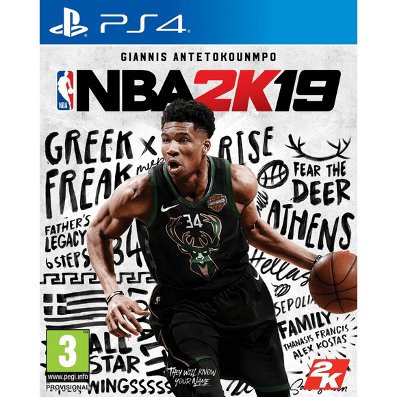 PlayStation Video Games NBA 2K19 PS4