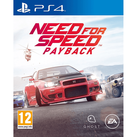 PlayStation Video Games Need for Speed Payback PS4