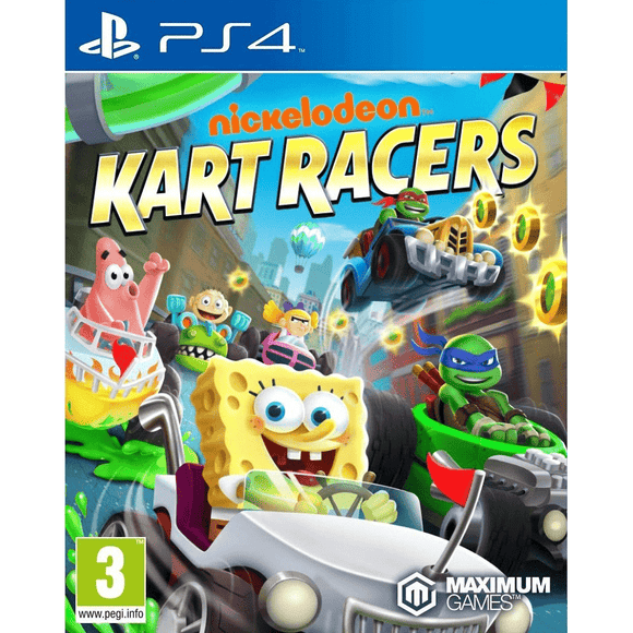 PlayStation Video Games Nickelodeon Kart Racers PS4