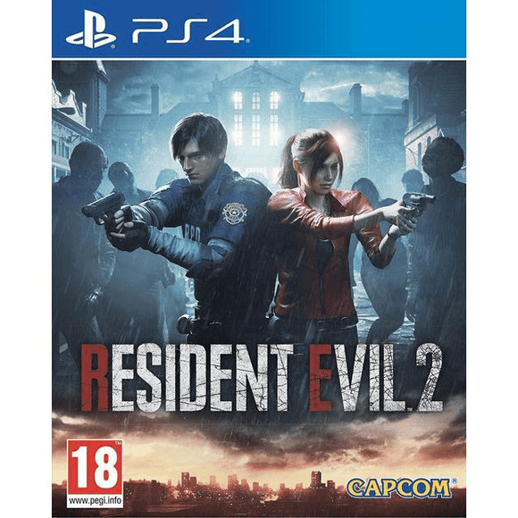 PlayStation Video Games Resident Evil 2 PS4