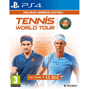 PlayStation Video Games Tennis World Tour Roland-Garros Edition PS4
