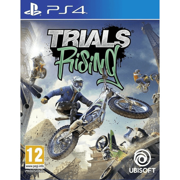 PlayStation Video Games Trials Rising Gold Edition PS4
