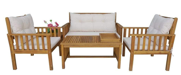 ProCamp Outdoor Simon Sofa Set White