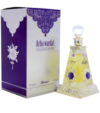 Rasasi perfum Rasasi Arba Wardat Attar Concentrated Perfume Oil For Unisex,30ML Rating: