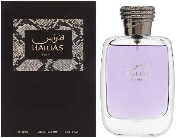 Rasasi Perfumes Rasasi Hawas for Men , Eau de Parfum, 100 ML