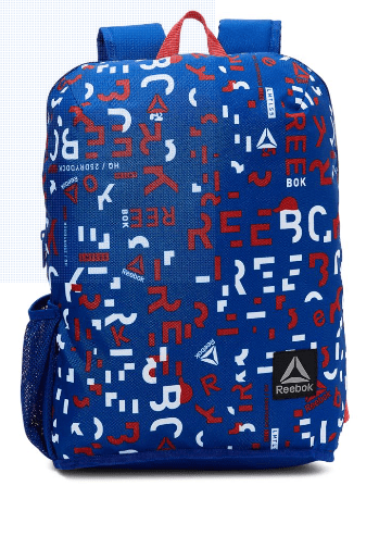 Reebok Back to School Core Graphic Kids Backpack - 22 Liter