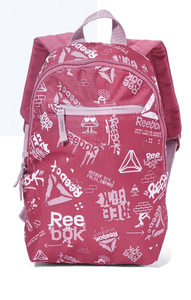 Reebok Back to School Graphic Print Backpack - 33 Cm