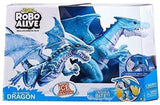 Robo Alive Toys S001-ZURU Robo Alive Boys - Robot Series 1 Dranin, Jumbo, 4pcs, Without Inner, Standard Color