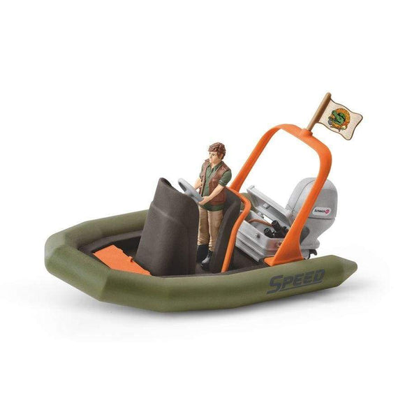 Schleich toys Schleich Dinghy with Ranger Set