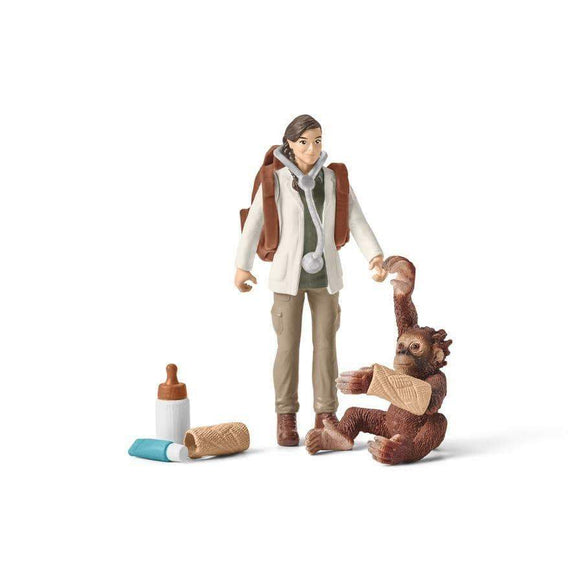 Schleich toys Schleich Vet at Work Set