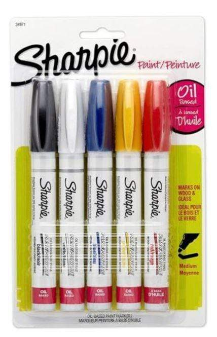 Sharpie Back to School Sharpie 5-Piece Oil Based Paint Markers Set Multicolour