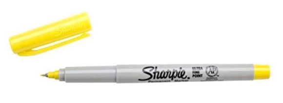 Sharpie Back to School Sharpie Permanent Marker Yellow