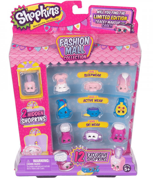 SHOPKINS Toys SHOPKINS FASHION MALL PACK - 56615