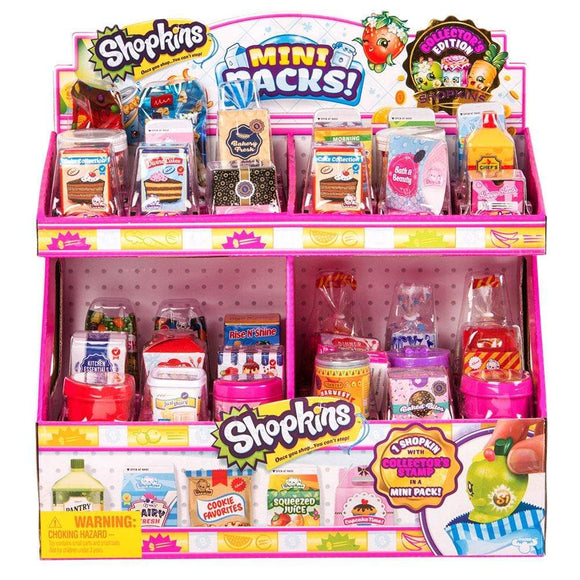 SHOPKINS Toys Shopkins - S10 Mini Pack CDU