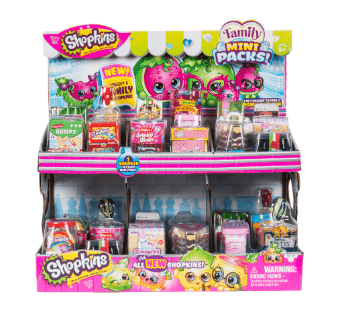 SHOPKINS Toys SPK S11 MINI PK 18PC CDU-57683