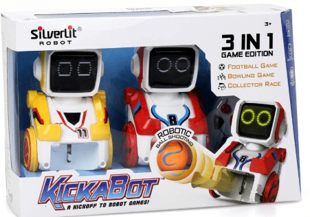 Silverlit Toys KICKABOT TWIN PACK