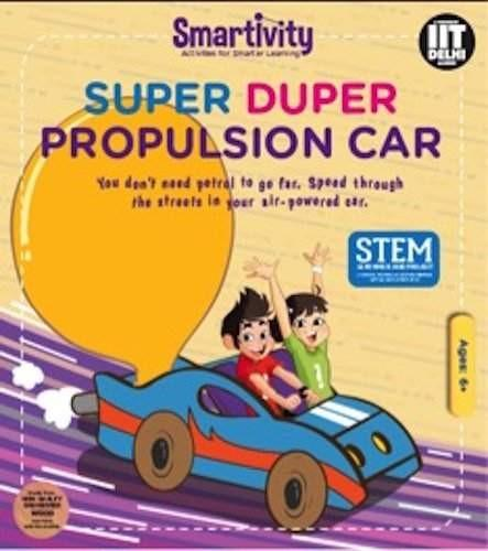 Smartivity Toys Smartivity-Super Duper Propulsion Car