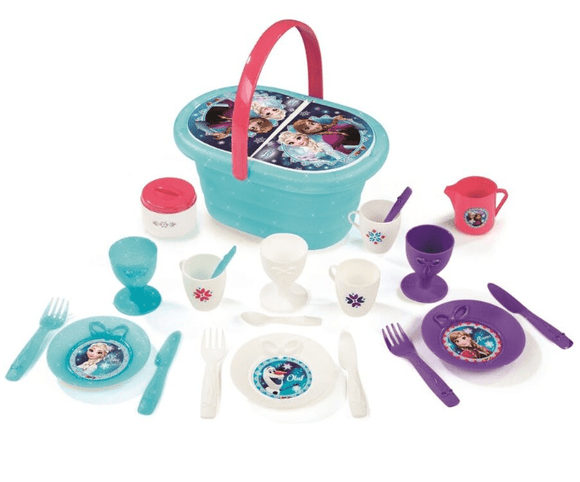 Smoby Toy Disney Frozen Picnic Basket Set