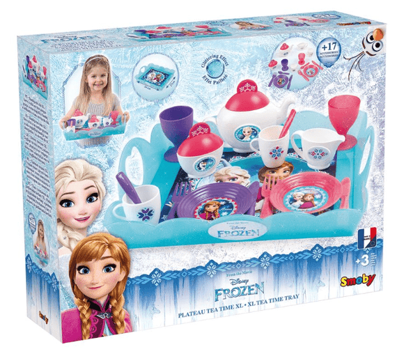 Smoby Toy Disney Frozen XL Tea Time Tray (Colors May Vary)