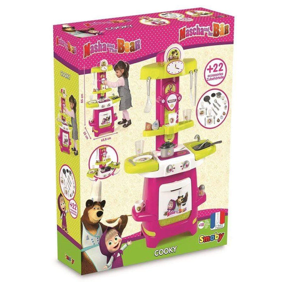 Smoby toys Masha and the Bear Cooky Kitchen Playset