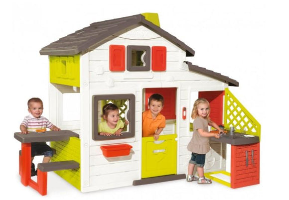 Smoby Toys Smoby - friends house playhouse + summer kitchen