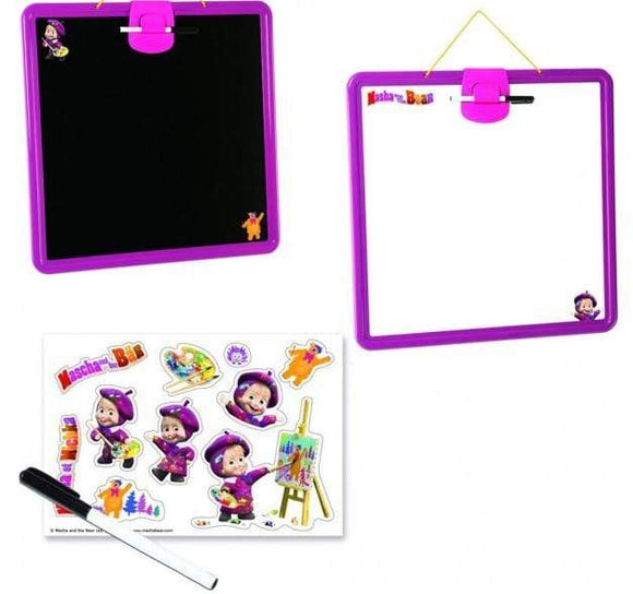 Smoby Toys Smoby - masha double side slate display