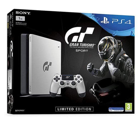 Sony Gaming Console PlayStation 4 1TB Console With 1 Controller And Gran Turismo Sport Limited Edition