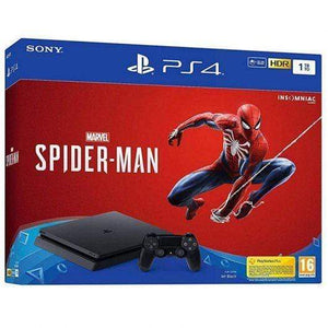 Sony Gaming Console Sony PlayStation 4 Limited Edition 1 TB Spider-Man Console