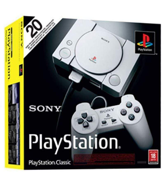 Sony Gaming Console Sony PlayStation Classic With 20 Pre-Loaded Games With Controller