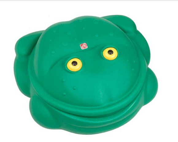 Step2 Outdoor Step 2- Frog Sandbox - Green