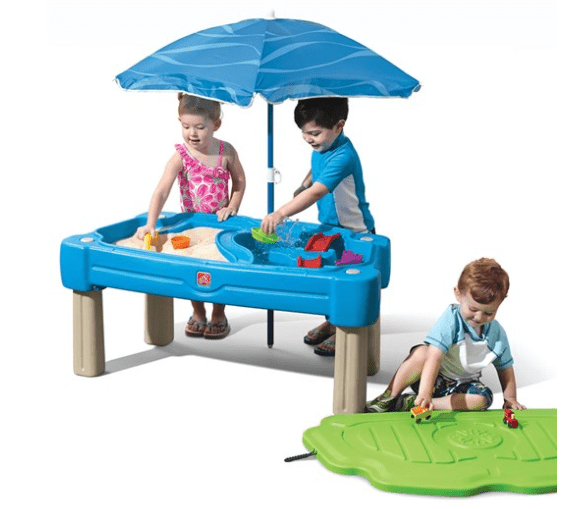 Step2 Outdoor Step2-Cascading cove with umbrella  (Blue)
