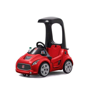 Step2 toys Foot-to-Floor Turbo Coupe (Red)