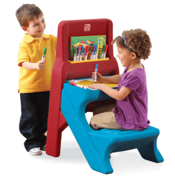 Step2 Toys Step2 ART EASEL DESK (Red,Blue)