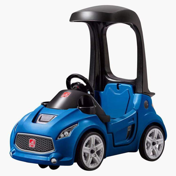 Step2 Toys Step2 Foot-to-Floor Turbo Coupe Blue