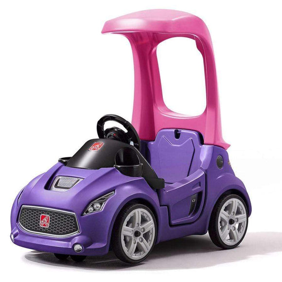 Step2 toys Step2 Foot-to-Floor Turbo Coupe (Purple)