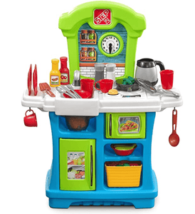 Step2 Toys Step2-Little Cooks Kitchen (Multicolor)