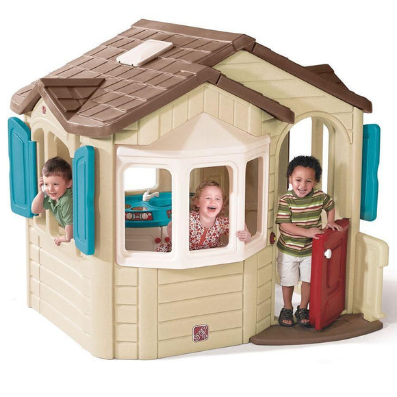 Step2 toys Step2 Naturally Playful Welcome Home Playhouse (Neutral)